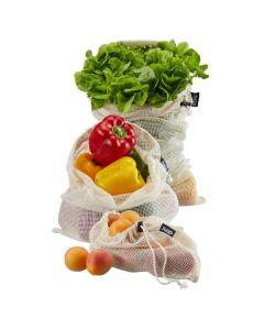 Groente- en fruitnet Set/3 Size M