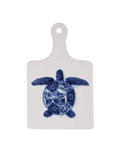 ROYAL DELFT - Wunderkammer - Kaasplank groot Turtle