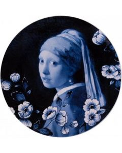 Heinen - Wandborden - Bord Meisje met de parel  26,5cm