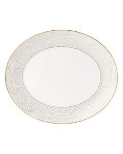 WEDGWOOD - Arris Tableware - Ovale serveerschaal 33cm