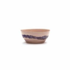 SERAX - Feast by Ottolenghi - Kom S 15x15cm Deliciois Pink Swirl-