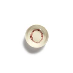 SERAX - Feast by Ottolenghi - Schotel XS 7cm wit Swirl-Stripes ro