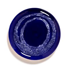 SERAX - Feast by Ottolenghi - Bord L 26x26cm Lapis Lazuli Swirl-D