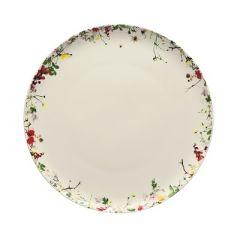 ROSENTHAL - Brillance Fleurs Sauvages - Plat Bord 27cm coupe