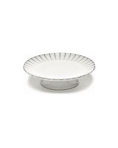 SERAX - Inku - Gebakschaal op voet L 24cm h6 Wit