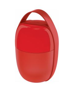 ALESSI - Food a Porter - Lunchpot  0,50L Rood