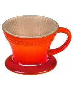 LE CREUSET - Aardewerk - Koffiefilter Oranje