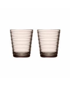 Glas 0,22l Linen set/2