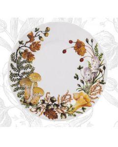GIEN FRANCE - Chanterelle - Ontbijtbord 23,2cm Chanterelle
