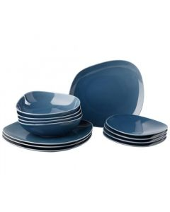 LIKE BY VILLEROY & BOCH - Organic Turquoise - Serviesset 12-dlg