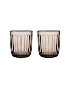 IITTALA - Raami - Glas 0,26l Linen s/2