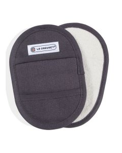 LE CREUSET - Textiel - Pannenlappen s/2 Mist Grey