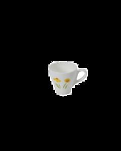 DIBBERN - Impression Yellow Flower Class - Espressokop Classico 0,11L