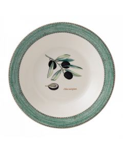WEDGWOOD - Sarah's Garden - Pastabord 28cm Groen