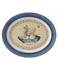 WEDGWOOD - Sarah's Garden - Ovale schaal 16,7 blauw