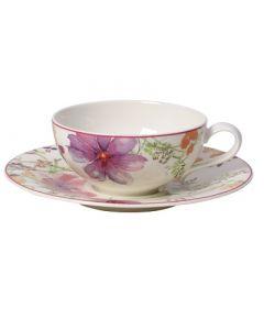 VILLEROY & BOCH - Mariefleur Tea - Theekop met Schotel 2-dlg