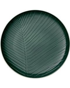 VILLEROY & BOCH - It's My Match Green - Bord 24cm Leaf