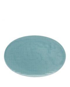 ROSENTHAL - Mesh Aqua - Bord ovaal 30cm