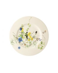 ROSENTHAL - Brillance Fleurs des Alpes - Bord 19cm met rand