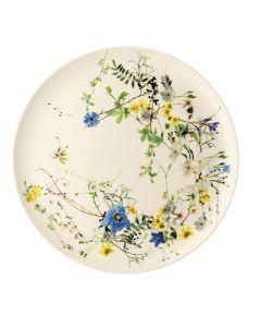 ROSENTHAL - Brillance Fleurs des Alpes - Plaatsbord 32cm
