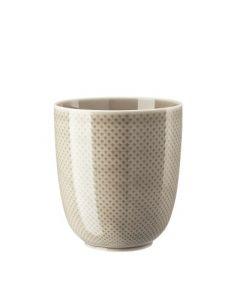 ROSENTHAL - Junto Pearl Grey - Vaas 16x18cm
