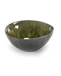 SERAX - Pure - Schaal rond S 16cm h6,8 groen