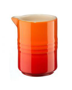 LE CREUSET - Aardewerk - Melkkannetje Oranje 0,15l