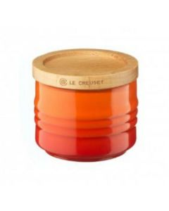 LE CREUSET - Aardewerk - Suikerpot 0,08L Oranje
