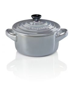 LE CREUSET - Metallics - Mini braadpan 10cm Mist Grey