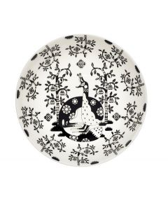 IITTALA - Taika Zwart - Diep bord 22cm deco nieuw