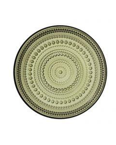 IITTALA - Kastehelmi - Plat Bord 17cm Mosgroen