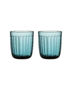 IITTALA - Raami - Glas 0,26l zeeblauw s/2