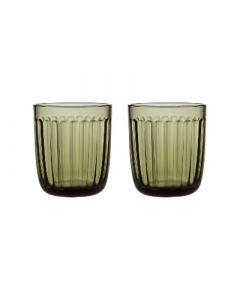 IITTALA - Raami - Glas 0,26l mosgroen s/2