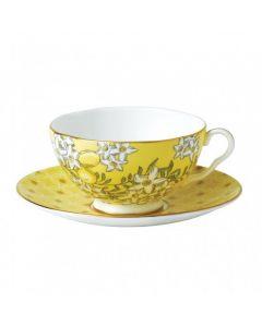 WEDGWOOD - Tea Garden - Theekop&schotel Lemon & Ginger