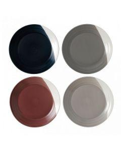 ROYAL DOULTON - Bowls of Plenty - Dinerbord 28cm set/4 (mix)