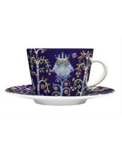 IITTALA - Taika Blauw - Koffieschotel 15cm