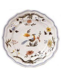 GIEN FRANCE - Oiseaux de Paradis - Ontbijtbord 23,2cm