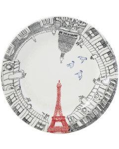 GIEN FRANCE - Ca C'est Paris - Ontbijtbord Eiffeltoren