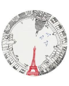 GIEN FRANCE - Ca C'est Paris - Gebakschaal 30cm