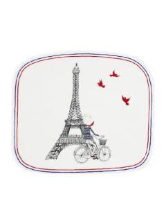 GIEN FRANCE - Ca C'est Paris - Schaal 18,6x16,2cm