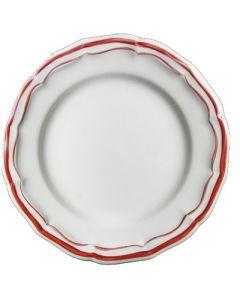 GIEN FRANCE - Filet Rouge - Ontbijtbord 23cm