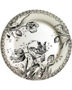 GIEN FRANCE - Tulipes Noires - Dinerbord 27,4cm