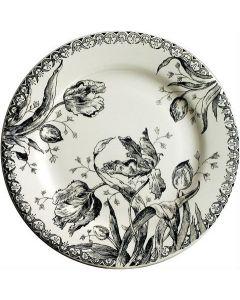 GIEN FRANCE - Tulipes Noires - Ontbijtbord 21,8cm
