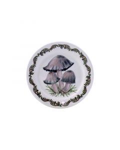 GIEN FRANCE - Chanterelle - Petit four bordje 12,8cm Coprins