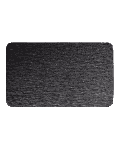 VILLEROY & BOCH - Manufacture Rock - Rechthoekig bord 28x17cm