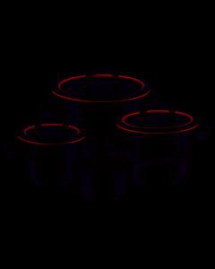 WMF - Function 4 - Pannenset 4-delig (16,16,20&24cm)