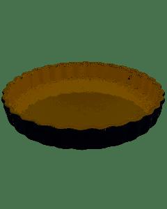 LE CREUSET - Aardewerk - Taartvorm 28cm zwart