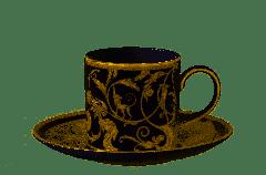 WEDGWOOD - Cornucopia - Koffiekop&schotel 0,15l