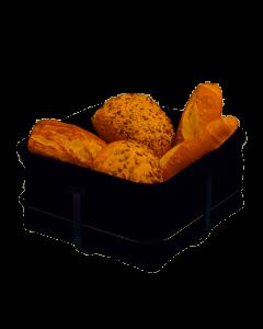 GEFU - Brunch - Broodmandje 22x22cm zwart