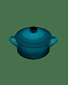 LE CREUSET - Aardewerk - Mini braadpan Deep Teal 10cm